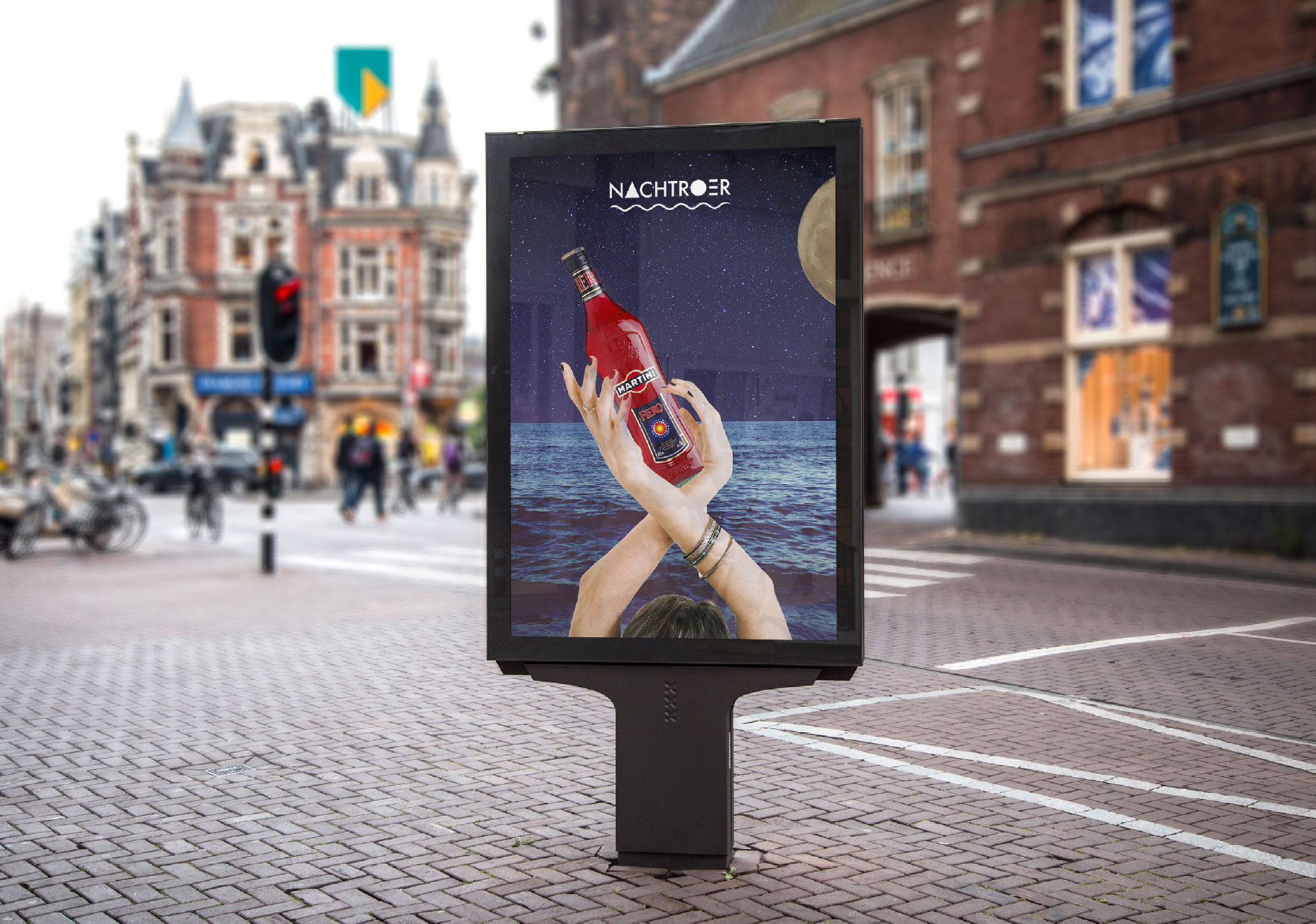 NACHTROER Posterstad